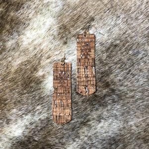 New Aztec Fringe Earrings